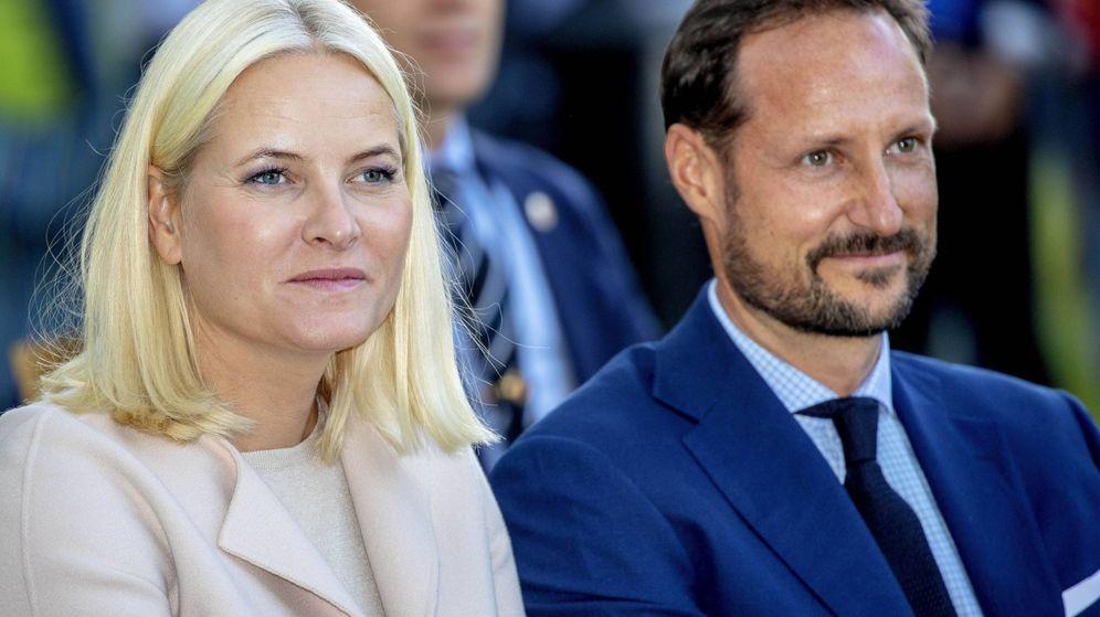 Foto: Mette Marit y Haakon, en una imagen de archivo. (Cordon Press)