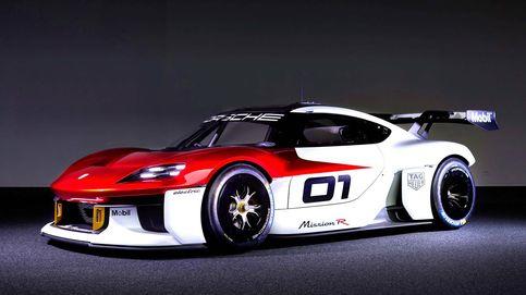 El futuro eléctrico de Porsche se esboza en este prototipo Mission R de carreras