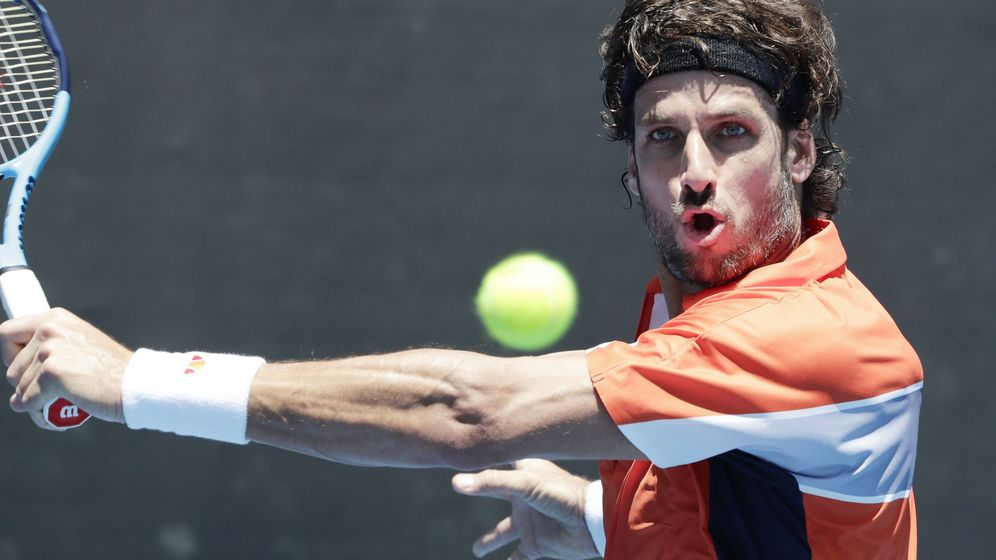 Foto: Feliciano López en el pasado Open de Australia. (EFE)