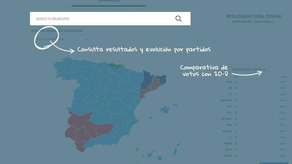 Los resultados de las elecciones generales del 26-J, por municipios