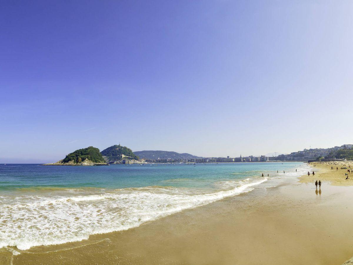 Foto: Playa de La Concha, San Sebastian. (Fuente: iStock)