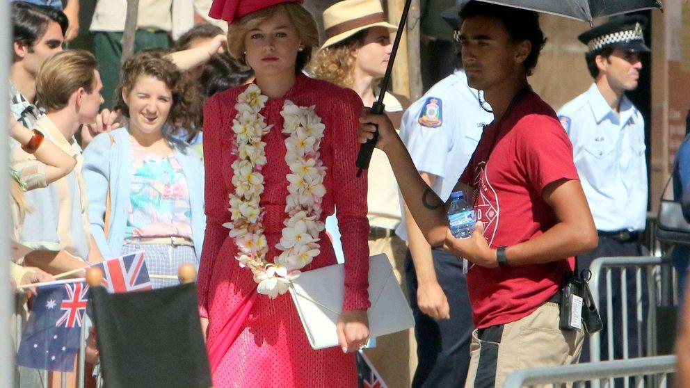 Lady Di en Málaga: la ciudad sirve de escenario para el rodaje de 'The Crown'