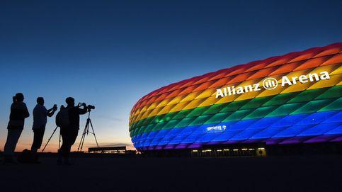 Alemania planta cara a la decisión de la UEFA de prohibir la bandera arcoíris en el Allianz