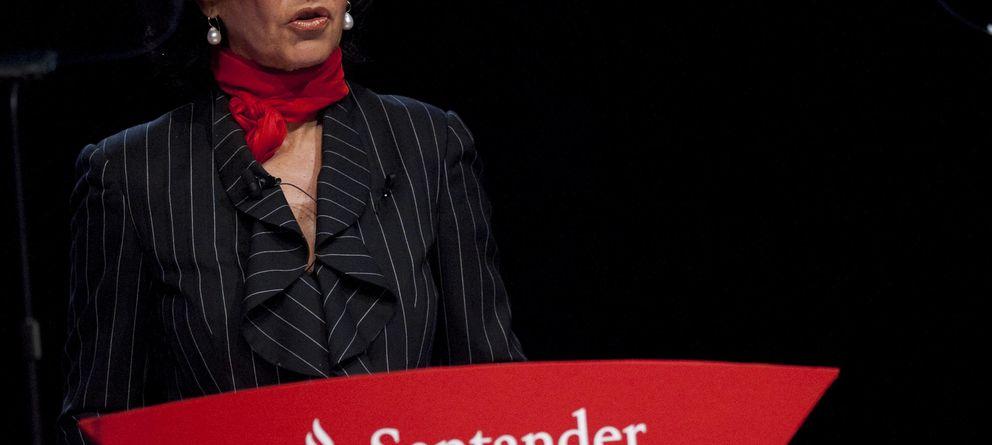 Foto: La presidenta del Banco Santander, Ana Patricia Botín (Gtres)