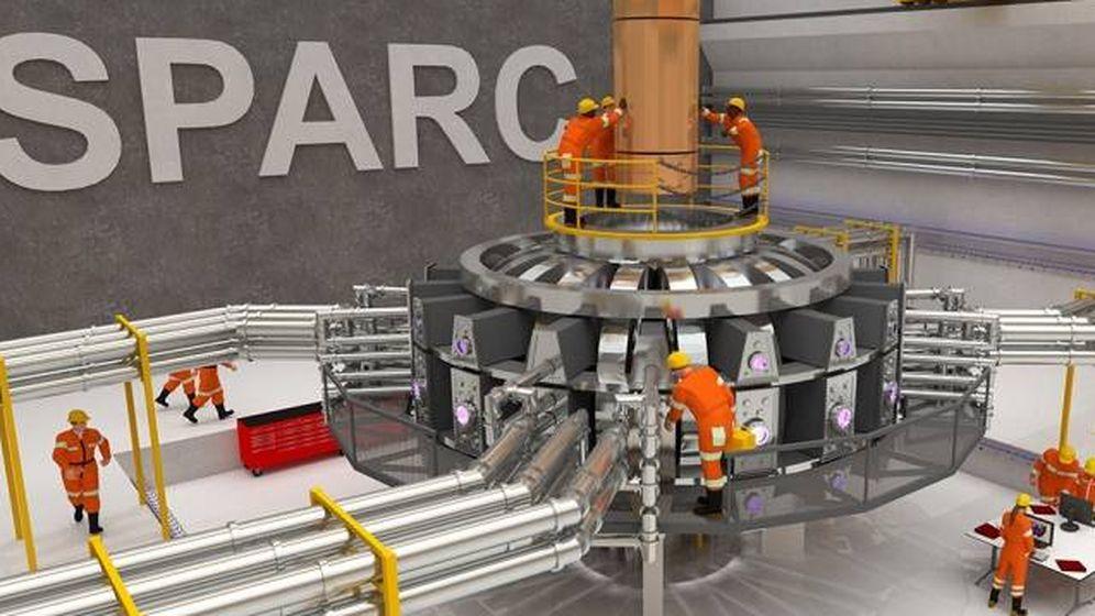 Foto: Prototipo del reactor que construirá este grupo de científicos