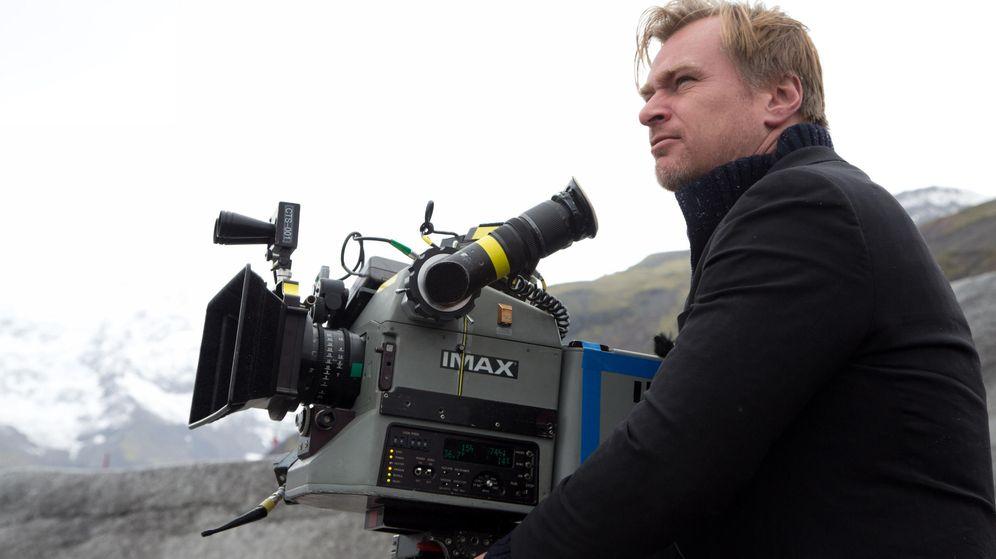 Foto: Nolan en el rodaje de 'Interestelar'