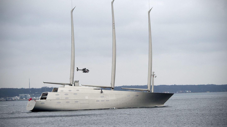 El velero más grande del mundo, el A. (EFE)