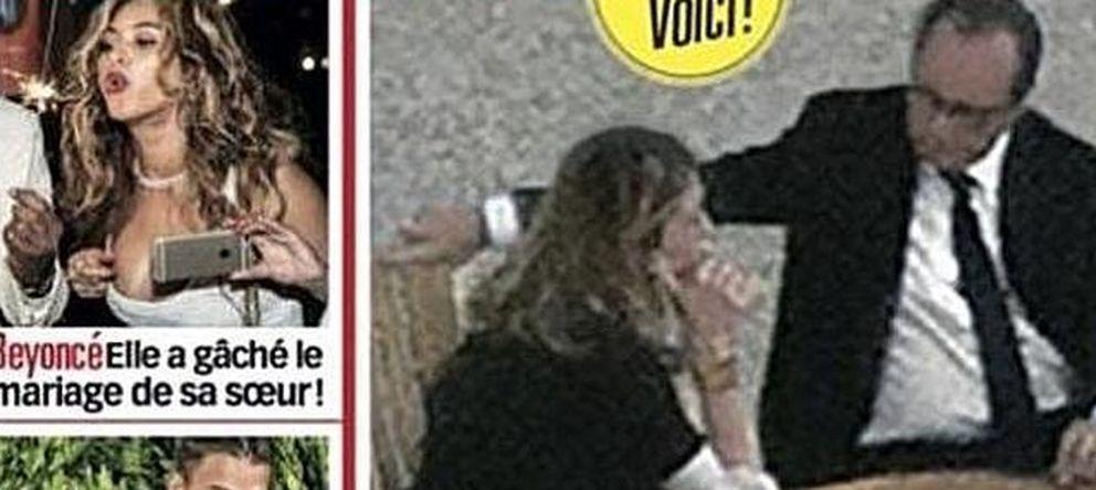 Foto: Imágenes de Hollande y Julie Gayet en 'Voici'