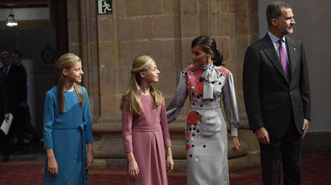 Suma y sigue en Oviedo: del vestidazo de Letizia al look similar de Leonor y Sofía