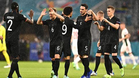 Alemania empata 'in extremis' ante Hungría y se enfrentará a Inglaterra en octavos de final