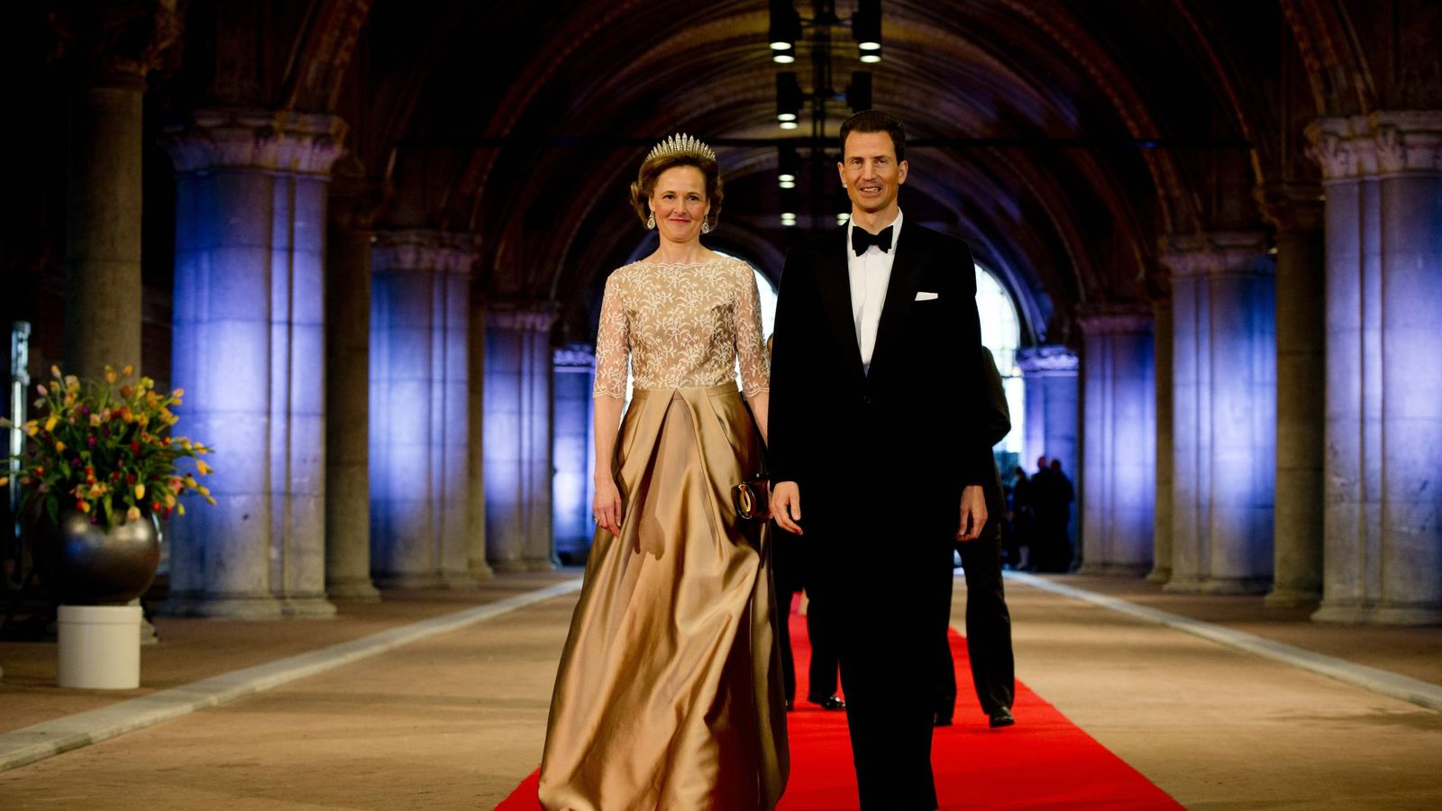 Foto:  Luis de Liechtenstein, con su mujer. (Getty)