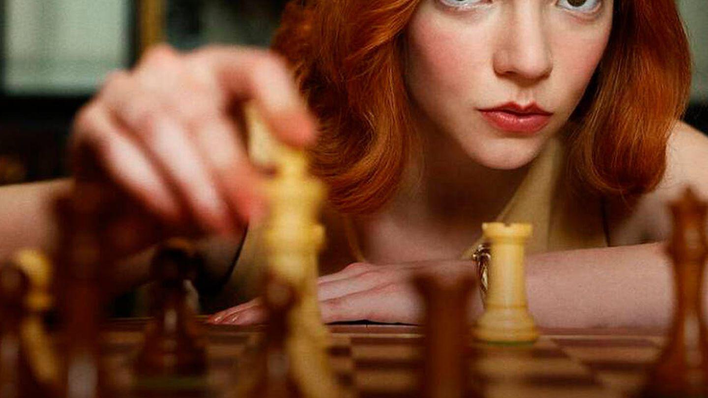 'Gambito de dama'. (Netflix)
