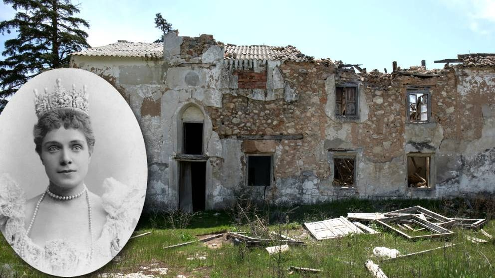 Ruina y mugre en la casa de la infanta Eulalia, la oveja negra de los Borbones