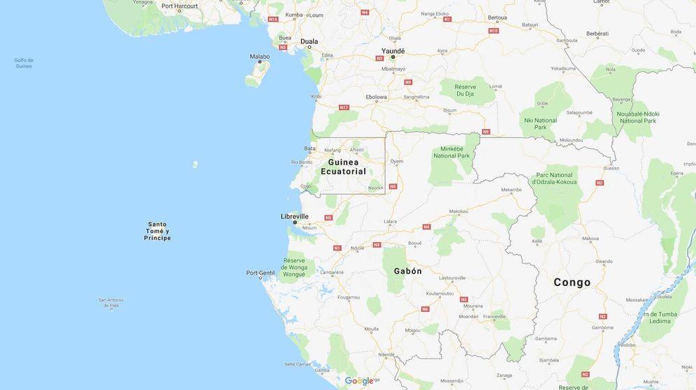 Foto: Santo Tomé y Príncipe (Google)