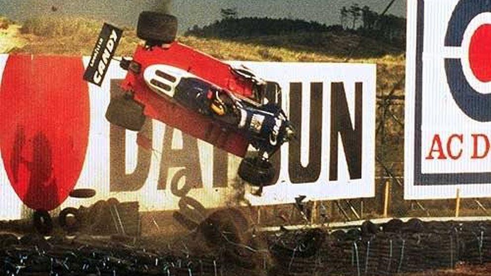 La azarosa vida del irlandés volador y el accidente más famoso de la F1