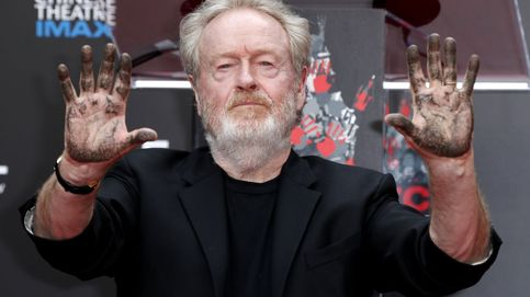 Ridley Scott deja huella en el Teatro Chino