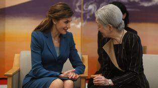 Varela y el sastre 'clonado': la despedida de Doña Letizia de Japón