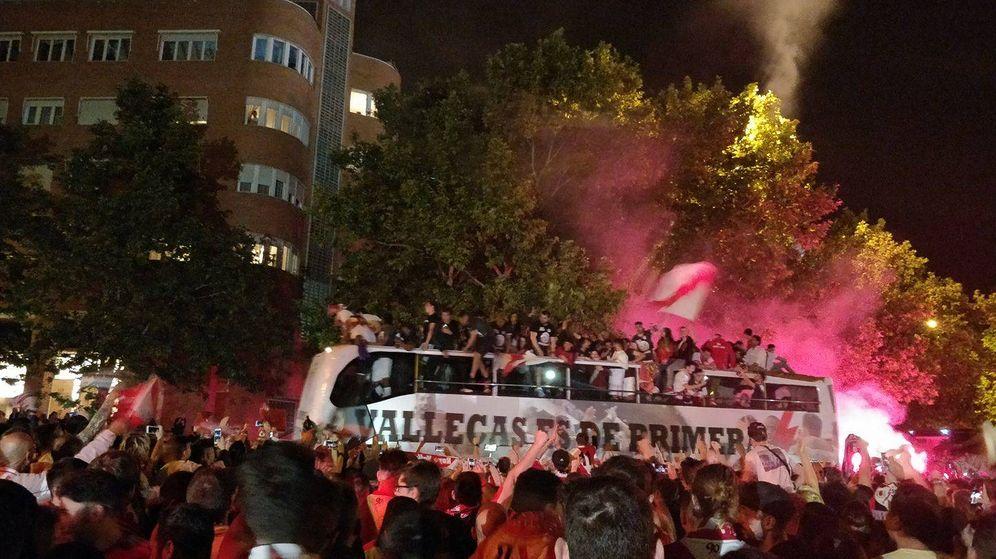 Foto: Ascenso del Rayo Vallecano a Primera División | Foto: T.F.