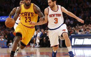 Los Knicks de Calderón no pueden con los Cavaliers del 'base' LeBron