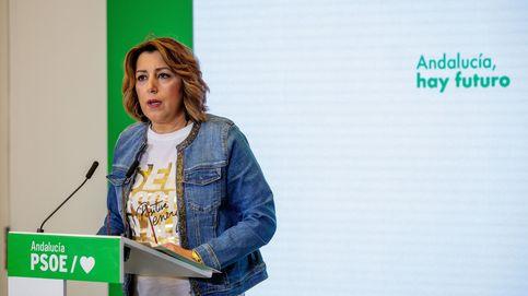 Susana Díaz y Juan Espadas, unidos en un discurso anti Vox para desgastar a Moreno