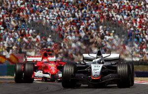 ¿Photoshop en F1? Adelantar entre 'humo y neumáticos bloqueados'