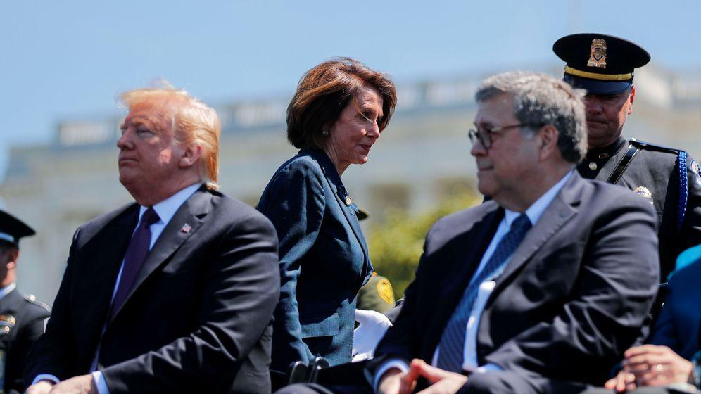 Foto: Donald Trump y Nancy Pelosi. (Reuters)