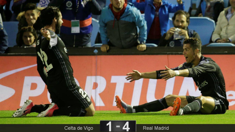 Foto: Isco generó los dos goles de Cristiano. (Reuters)