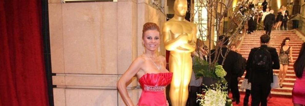 Foto: Sonia Monroy, tiroteada por Tarantino en la alfombra roja de los Oscar