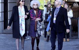 Foto: La Duquesa disfruta del ocio en Madrid