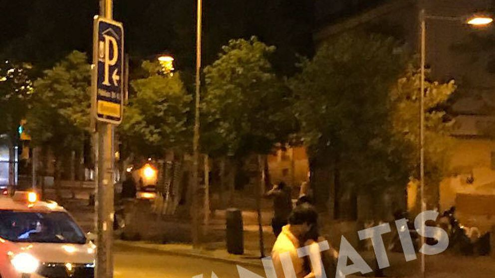 Froilán se da el lote en plena calle de Madrid con una misteriosa chica