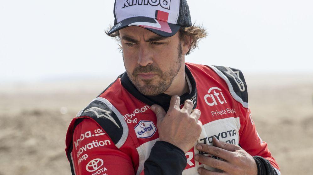 Foto: Fernando Alonso se ha visto envuelto en una polémica inesperada con Vicente del Bosque. (EFE)