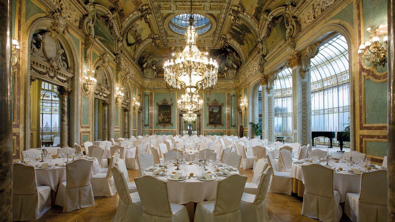 Foto: Uno de los salones del Casino de Madrid, situado en un espectacular edificio de la céntrica calle Alcalá.