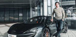 Post de Este es el nuevo coche de empresa de Carlos Sainz: un espectacular 600LT de 216.000 €
