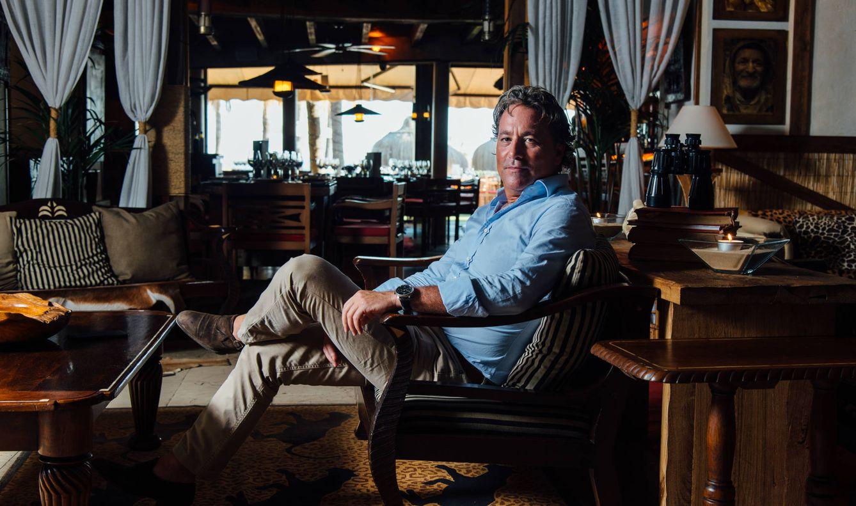 Foto: Dionisio Hernández-Gil, el dueño del los chiringuitos Trocadero de Marbella y Sotogrande (dansanphotos.com)
