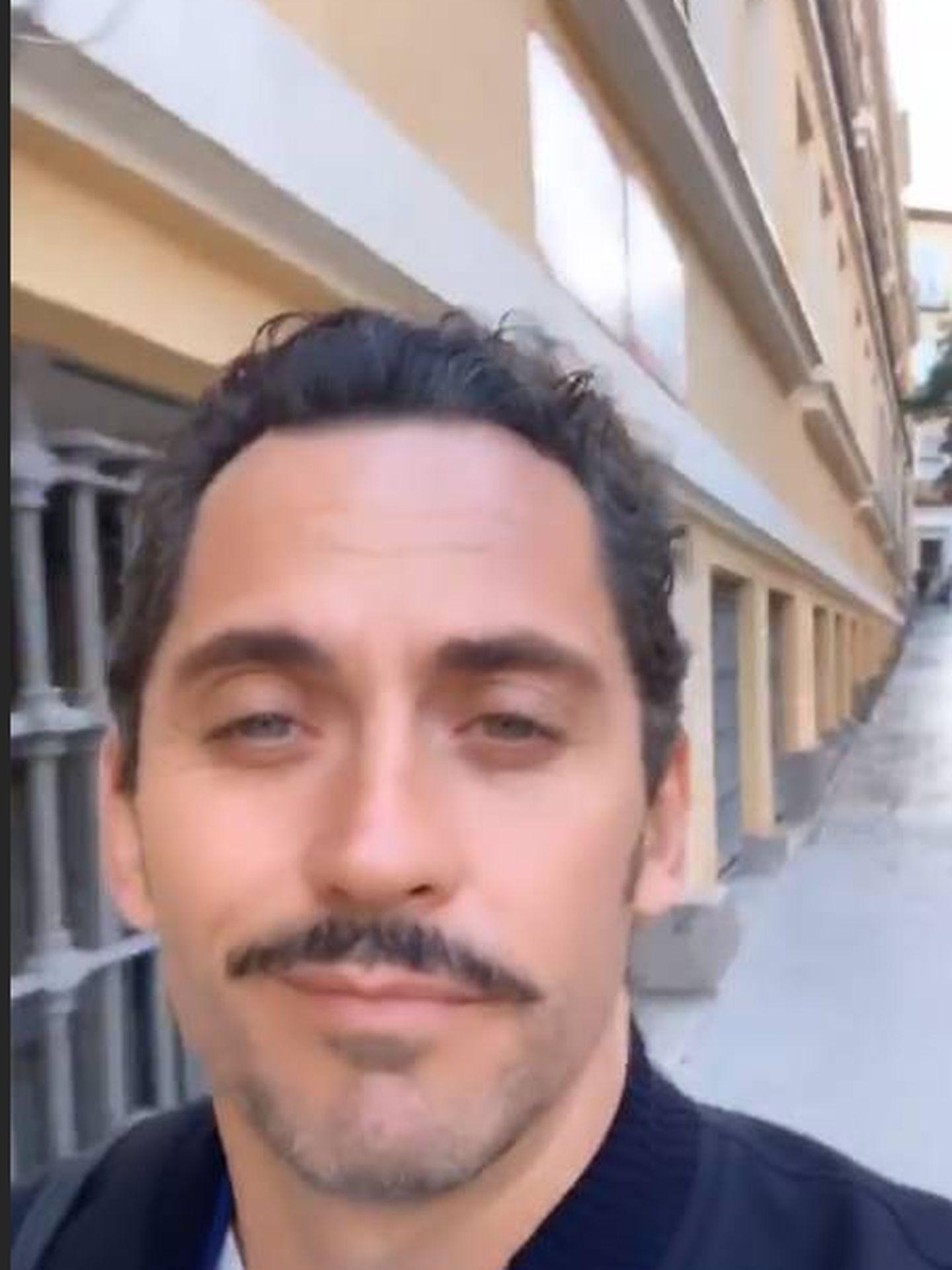 El story de Paco León. (IG)