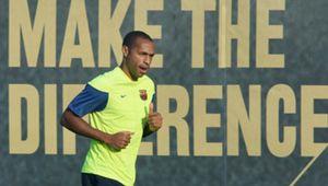Henry, duda para enfrentarse al Dinamo de Kiev