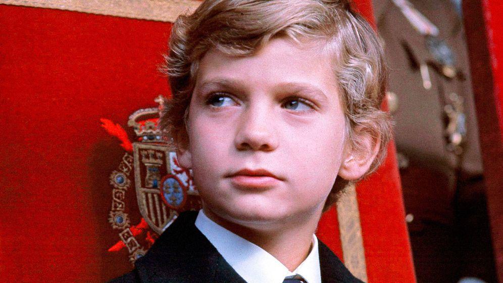 Foto: El rey Felipe a los 9 años. (Vanitatis)