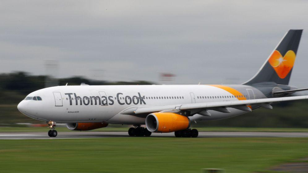 Foto: Un avión de Thomas Cook. (Reuters)