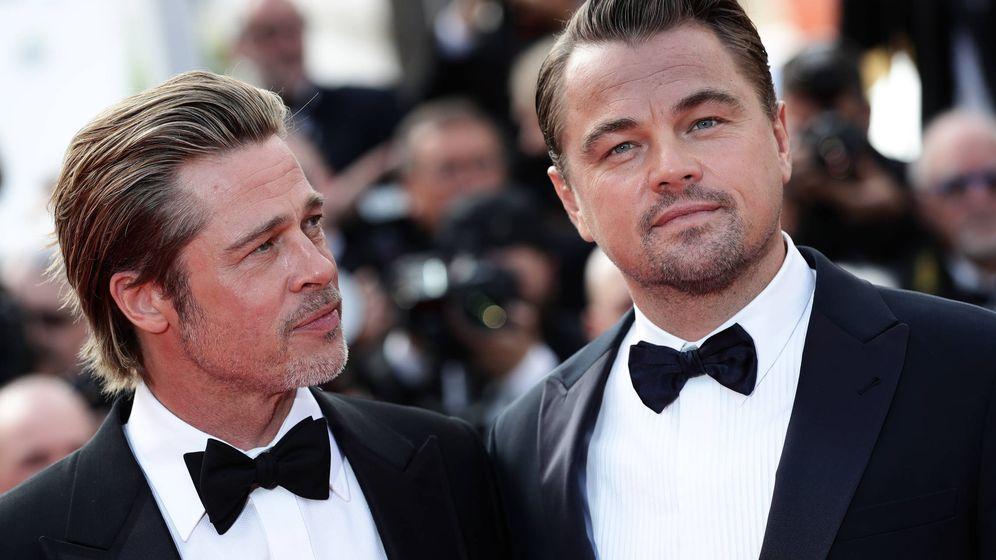 Foto: Brad Pitt en la presentación de 'Once upon a time... in Hollywood' en el Festival de Cine de Cannes. (Getty)