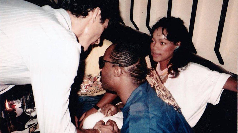 Stevie Wonder y Gay Mercader.