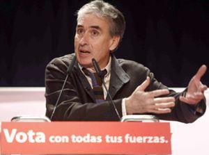 Jáuregui, el eterno 'número dos', deja el Congreso irritado con Zapatero