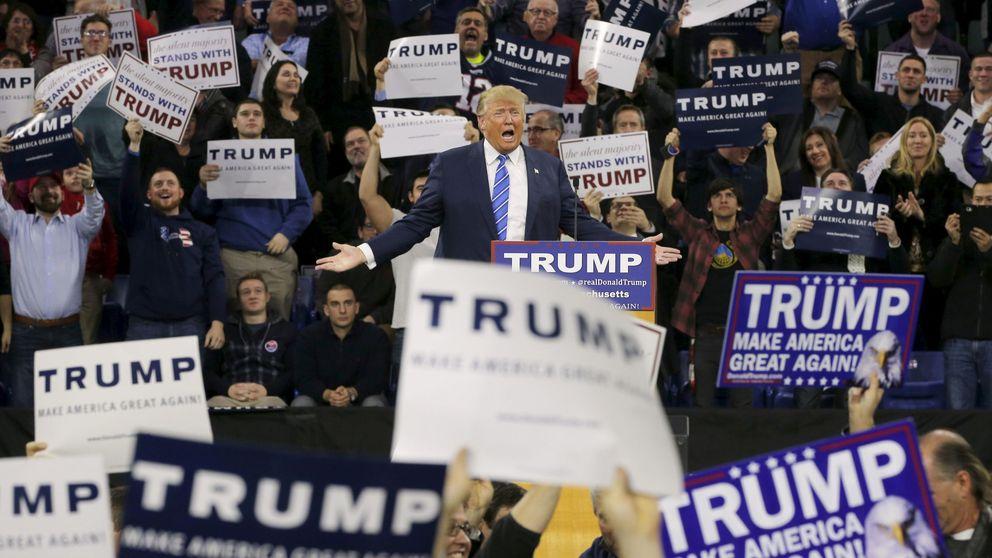 Trump usa imágenes de Melilla como si fueran de la frontera de México