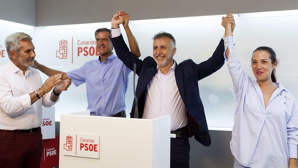 Sánchez se apunta Canarias: su candidato gana con el 43,59% de los votos