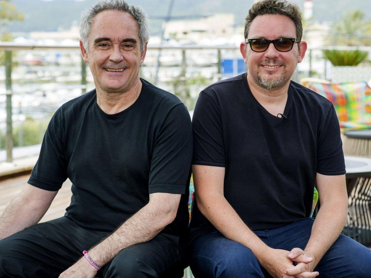 Foto: Los hermanos Ferran y Albert Adrià. (EFE)