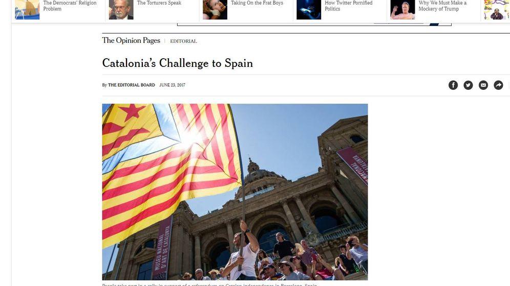 Foto: Editoral de 'The New York Times'.