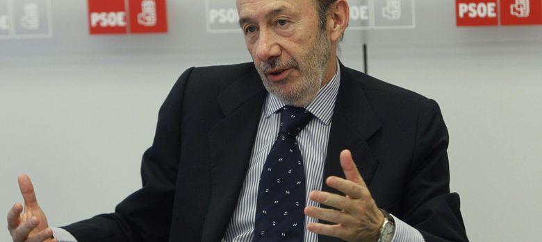 Foto: El secretario general del PSOE, Alfredo Pérez Rubalcaba (Efe).
