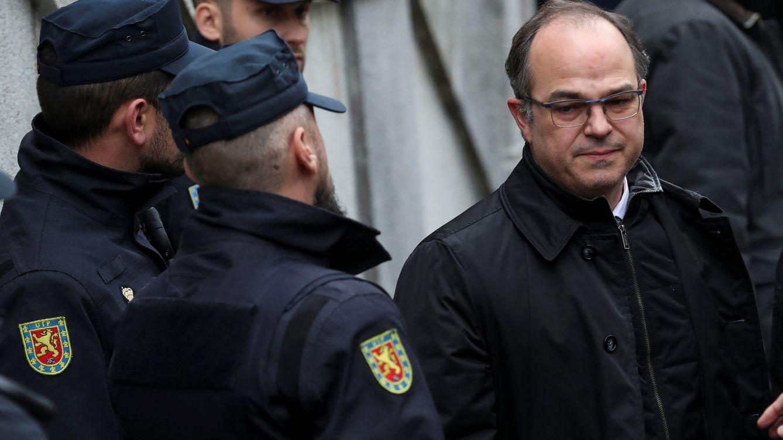 Turull se encara también al juez Llarena: Usted me ha convertido en un preso político