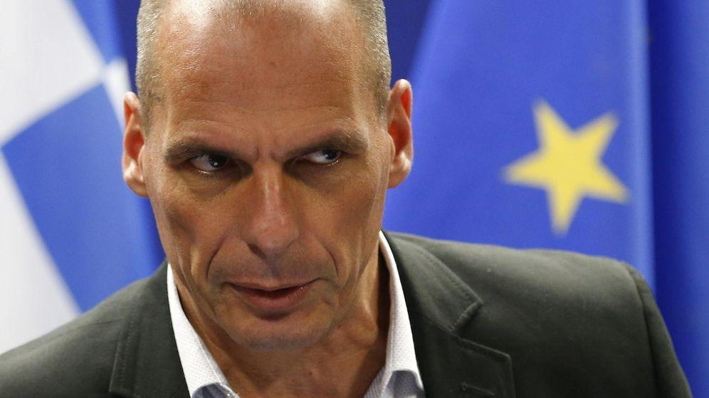 Foto: El ministro de Finanzas griego, Yanis Varufakis