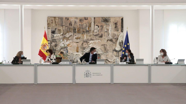 Reunión del Consejo de Ministros. (EFE)