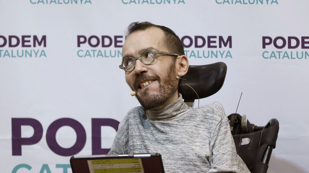 Foto: Pablo Echenique,  secretario de Organización y Acción de Gobierno de Podemos (Efe)